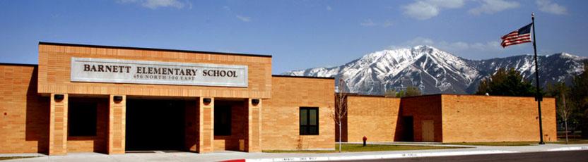 Barnett Elementary School Entrance